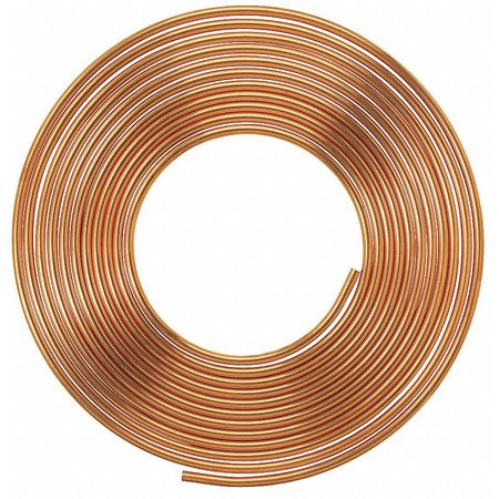 "3/8"" OD x 100 ft. Coil Copper Tubing Type K"