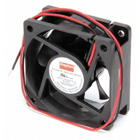 "2-3/8"" Square Axial Fan,  24VDC"