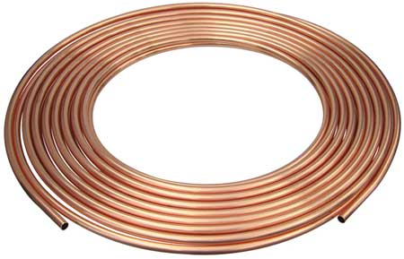 "1-1/8"" OD x 50 ft. Coil Copper Tubing Type ACR"