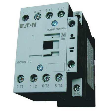 IEC Magnetic Contactor, 120VAC, 18A, 1NO, 4P