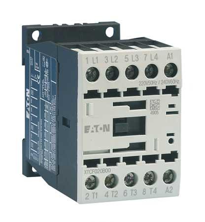 IEC Magnetic Contactor, 208VAC, 12A, 4P