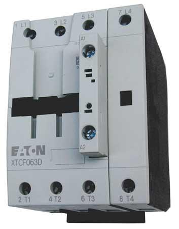 IEC Magnetic Contactor, 480VAC, 40A, 4P