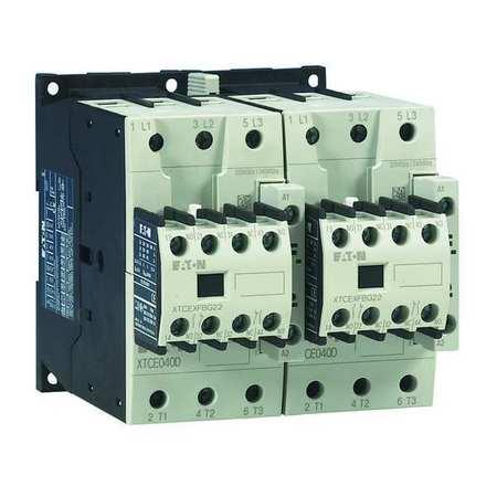 24VAC Reversing IEC Magnetic Contactor 3P 40A