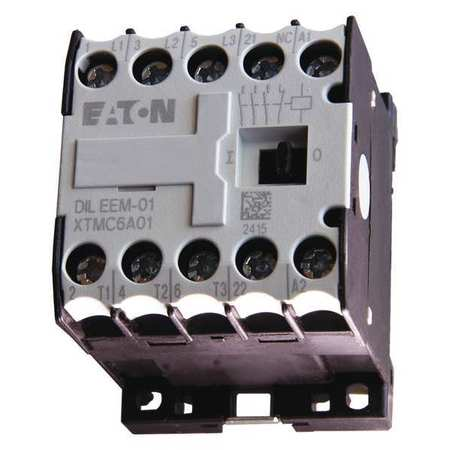 IEC Mini Magnetic Contactr, 240VAC, 6A, 1NC