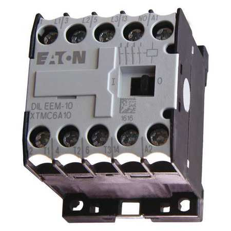 IEC Mini Magnetic Contactr, 120VAC, 6A, 1NO