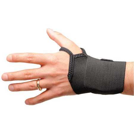 Wrist Wrap, S/M, Ambidextrous, Black