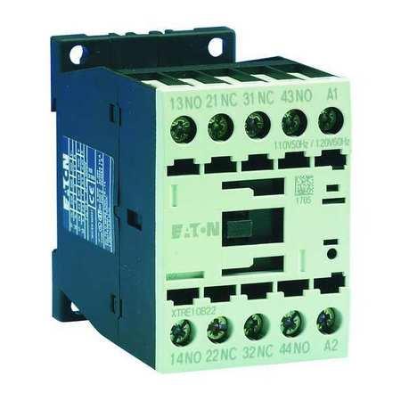 IEC Control Relay, 4NO, 120VAC, 16A