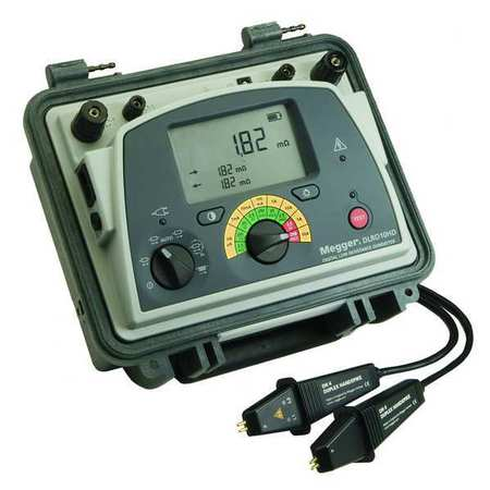 Micro Ohm Meter, 0-2500 Ohms