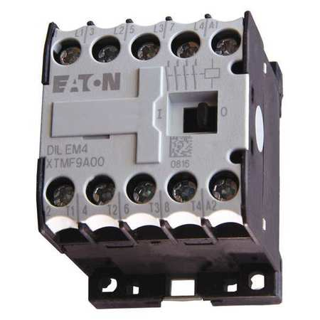 IEC Mini Magnetic Contactor, 208VAC, 9A, 4P
