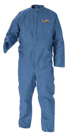 Disposable Coveralls, Blue, 4XL, PK20