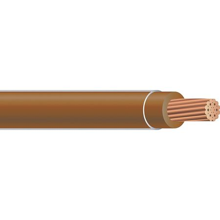 Building Wire, THHN, 14 AWG, Brown, 2500ft