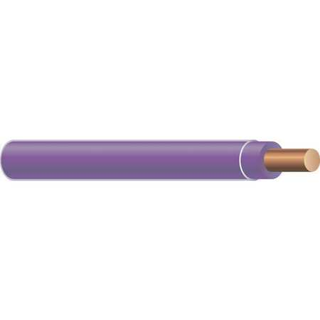 Building Wire, THHN, 14 AWG, Purple, 2500ft