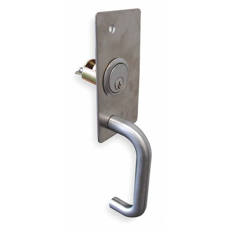 Pull, Escutcheon Pull w/Lock, 19 Series