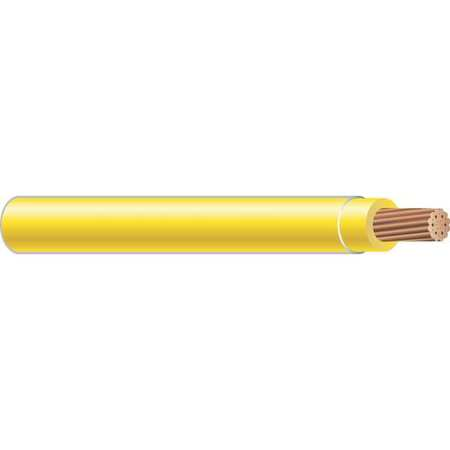 Building Wire, THHN, 14 AWG, Yellow, 2500ft