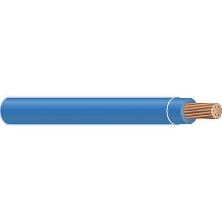Building Wire, THHN, 14 AWG, Blue, 2500ft