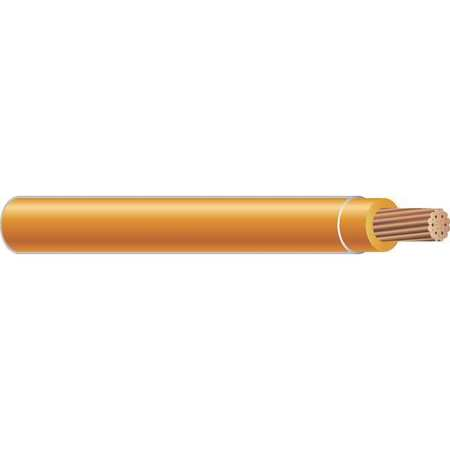 Building Wire, THHN, 8 AWG, Orange, 500ft