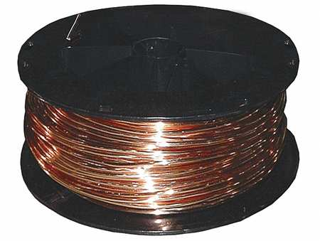 Building Wire, Bare Copper, 8 AWG, 500ft