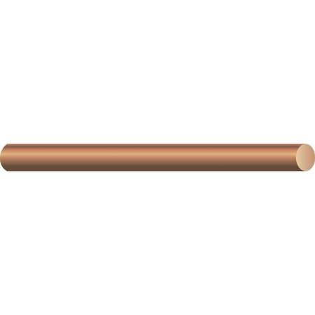 Building Wire, Bare Copper, 6 AWG, 315ft