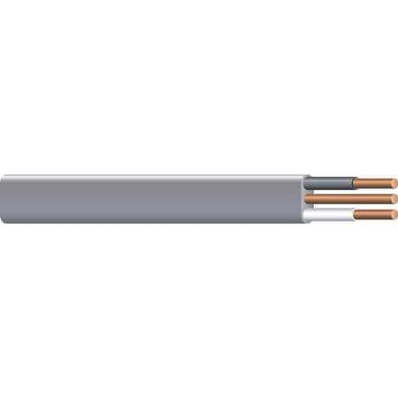10 AWG 2 Conductor Nonmetallic Building Cable 600V GY