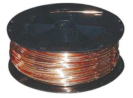 Building Wire, Bare Copper, 4 AWG, 200ft