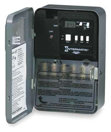 Electrnic & Mech Water Heater Timer, DPST