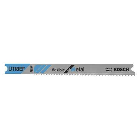 Jigsaw Blade, U-Shank, 3-1/8 In. L, PK5
