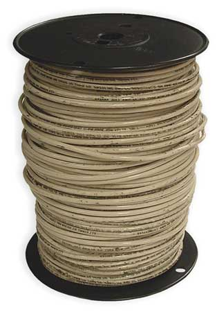 Building Wire, THHN, 10 AWG, White, 500ft