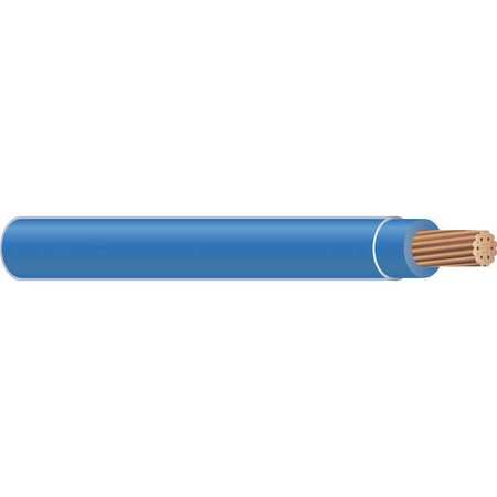 Building Wire, THHN, 12 AWG, Blue, 500ft