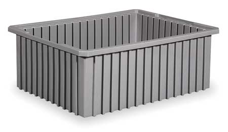 Divider Box,  22-3/8 x 17-3/8 x 6 In,  Gray