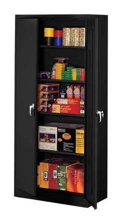 Storage Cabinet, Unassembled, Black