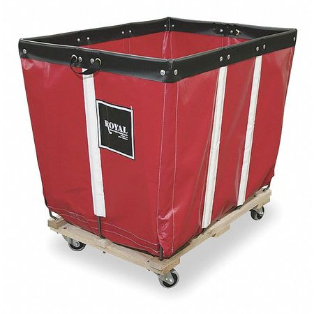 Basket Truck, 12 Bu. Cap., Red, 36 In. L