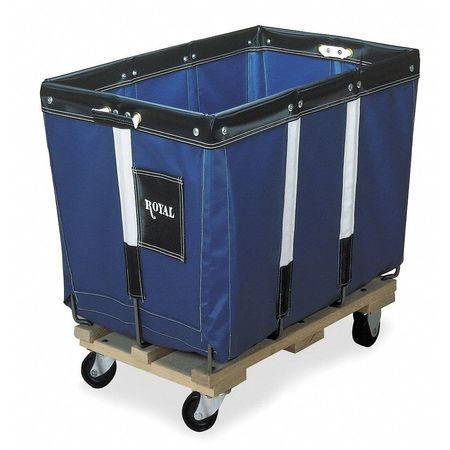 Knock Down Basket Truck, 12 Bu, Blue Vinyl