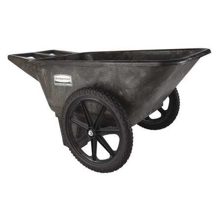 Big Wheel Cart, HD, 1/4 cu. yd., 300 lb.