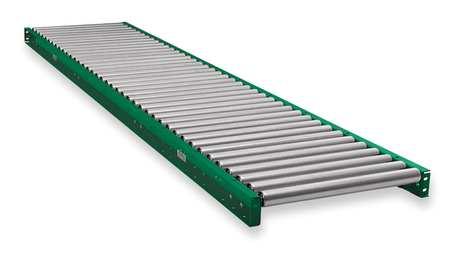 Roller Conveyor, 10 ft. L,  16BF
