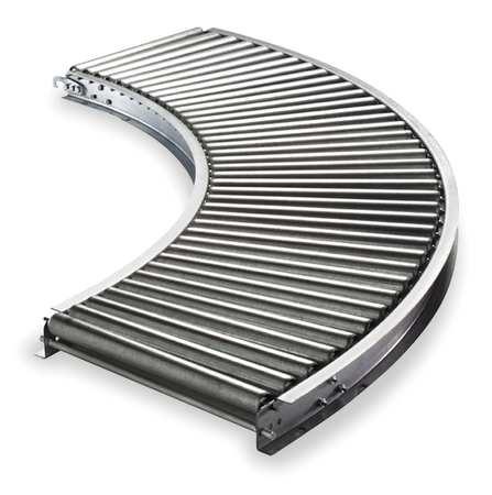 Roller Conveyor, 90 Curve,  16BF