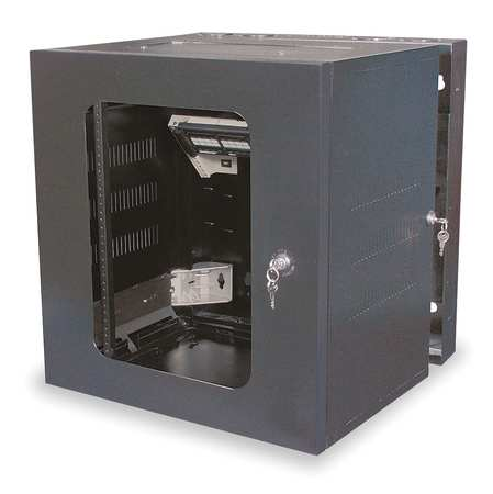Enclosure, 24 in H, 20 in D, Rolled Steel