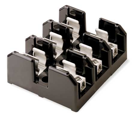 Fuse Block, Industrial, 30A, 3 Pole