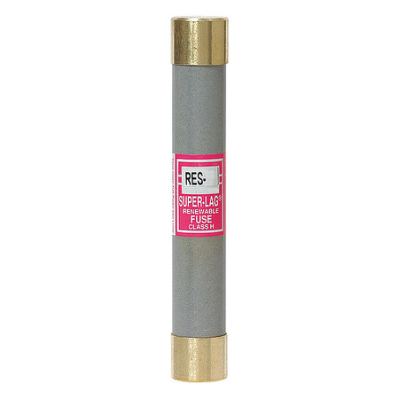 6A Time Delay Cylindrical Melamine Class H Fuse 600VAC