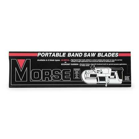 Portable Band Saw Blade, Bimetal, PK3