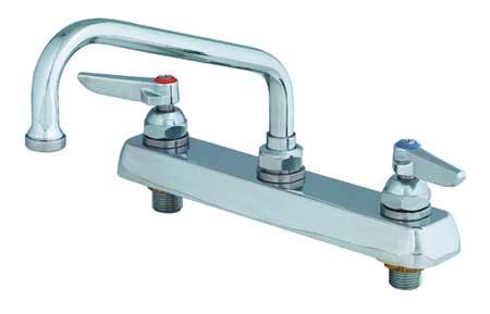 Swing Kitchen Faucet,  Chrome,  2 Holes