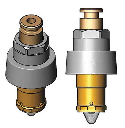 Metering Cartridge, Faucet, Brass, 2.2 GPM