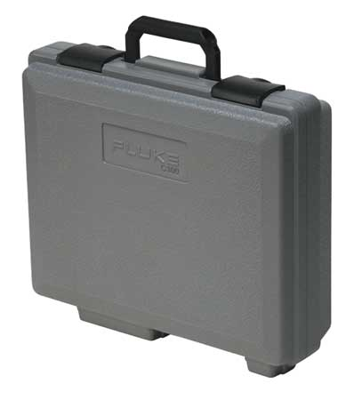 Hard Carrying Case, 4-4/5 In. D