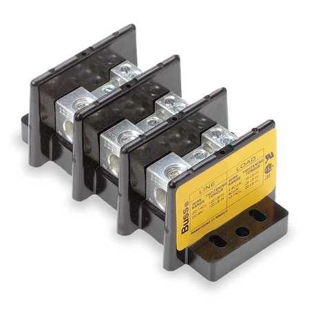 Pwr Dist Block, 175A, 3P, 6P Secondary, 600V