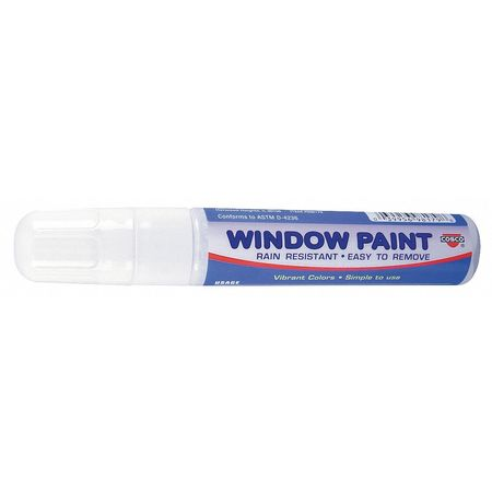 Paint Marker,  Broad Tip,  White