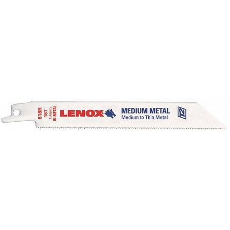 3 In. L Reciprocating Saw Blade,  5 pk.
