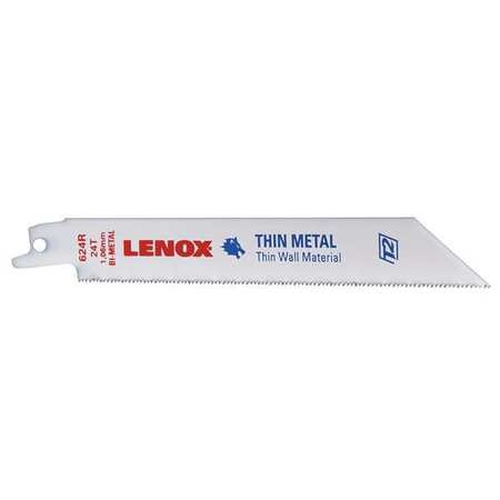 "3/4"" W Reciprocating Saw Blade,  5 pk."