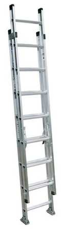 Extension Ladder,  Aluminum,  16 ft. ,  IA