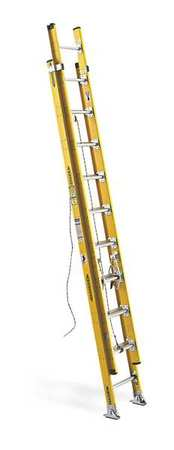 Extension Ladder, Fiberglass, 20 ft., IAA
