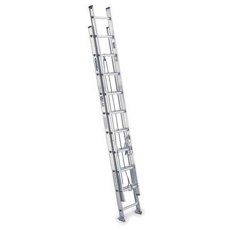 Extension Ladder, Aluminum, 20 ft., IA