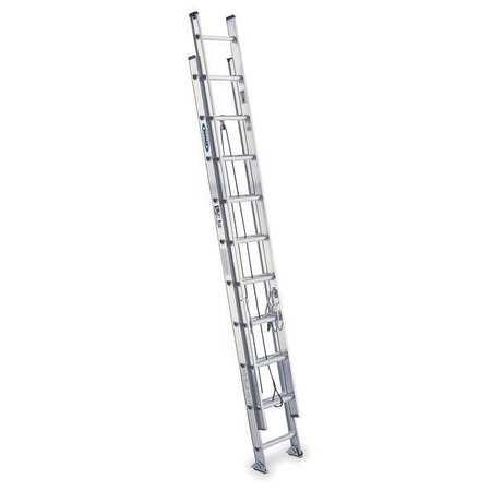 Extension Ladder,  Aluminum,  20 ft. ,  IA